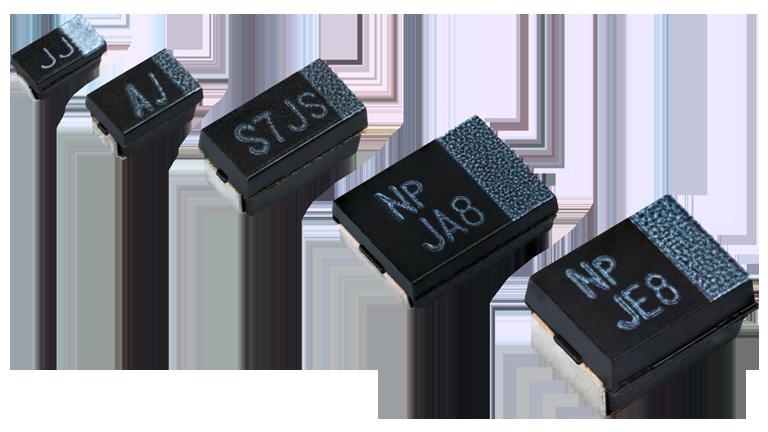 Vishay T55 Hi Performance Type (Standard ESR) & (Low ESR)